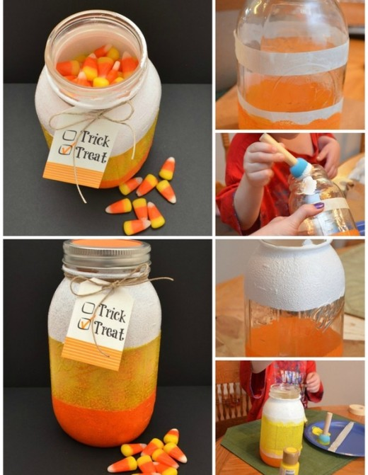 20 DIY Halloween Bags, Baskets, And Bowls