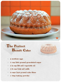 The Perfect Bundt Cake