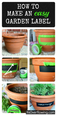How To make An easy Garden Label
