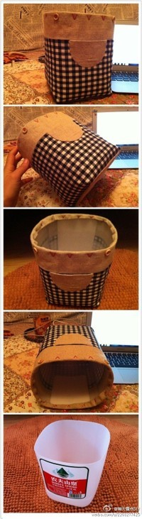 Handmade storage basket