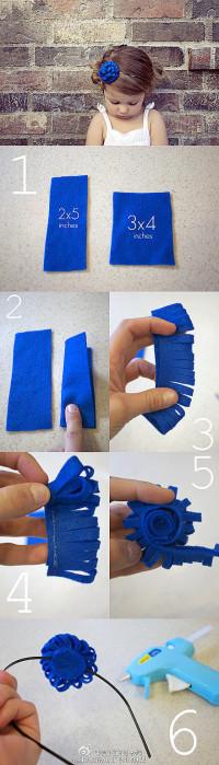 DIY creative bobby pin