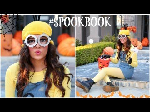 DIY Despicable Me Minion Costume + Makeup! Video Tutorial.