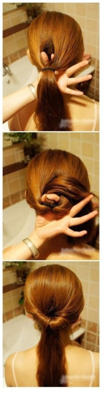 DIY Practical Braided Hair Hairstyle DIY Projects