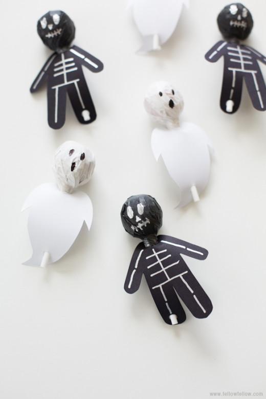 DIY Spook-Pops! See all Tutorial