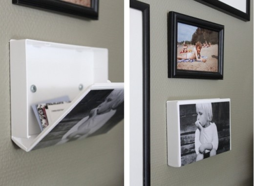 DIY: VHS cassette covers made into wall storage! So … | Craft Ideas