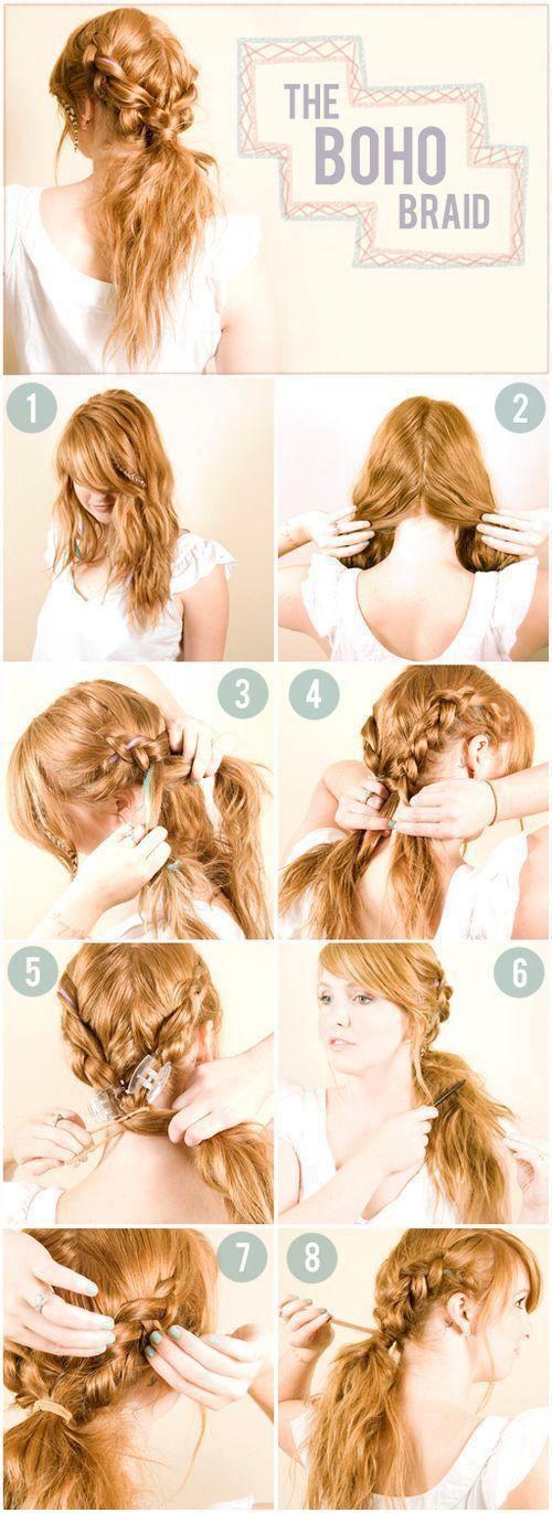 The Boho Braid – Do It Yourself Hair Ideas