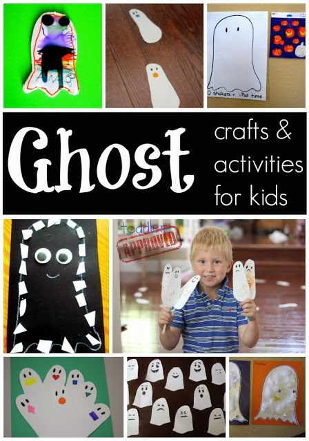 Ghost Crafts & Activities for Kids from Toddler … | Arts and Crafts