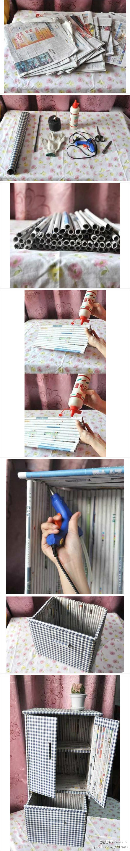 DIY – How to use Old Newspapers