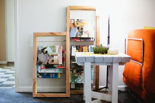 Magazine Rack DIY – A Beautiful Mess