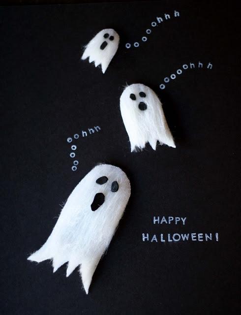 Make // DIY Kids Halloween Cards