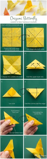 Origami – Butterfly