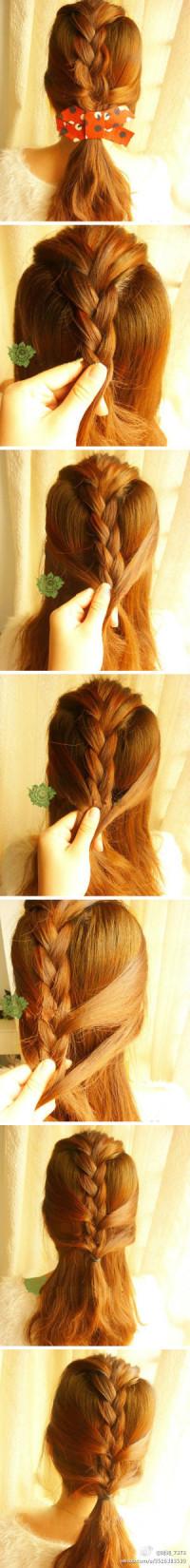 DIY braided hair tips – casually stroll