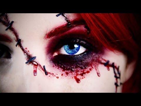 Chucky Doll Halloween Makeup Tutorial