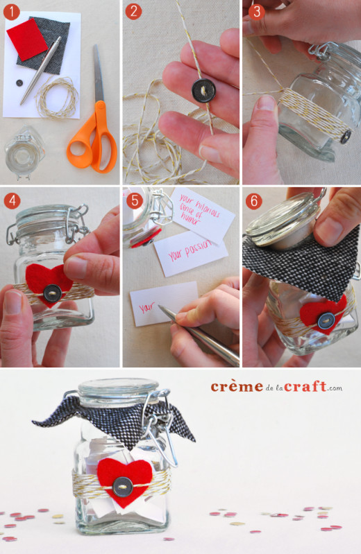 VALENTINE'S DIY: 10 Things I Love About You Jar