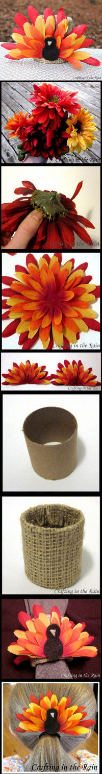 DIY Flower Turkey – Great for Kids DIY
