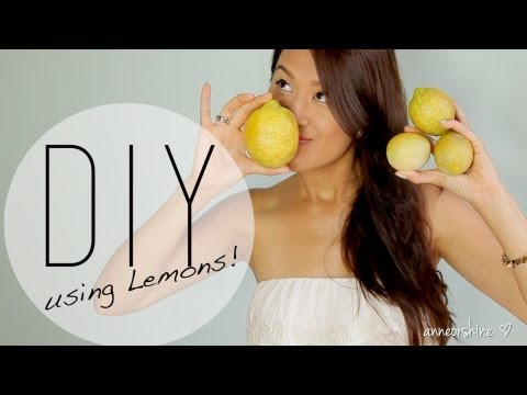 3 Beneficial Beauty DIY Using Lemons – How to Natural Deodorant / Acne Mask by ANNEORSHINE