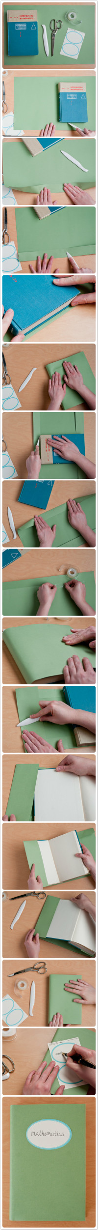 DIY Carefully Covered Book