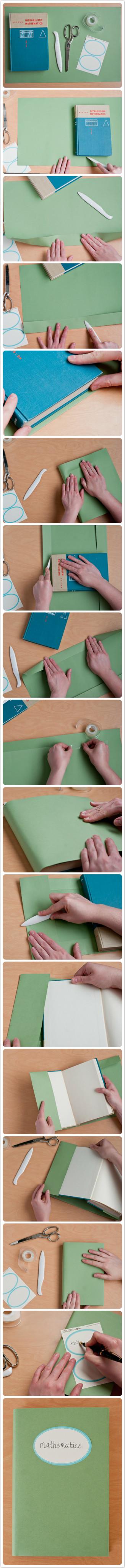 DIY Carefully Covered Book