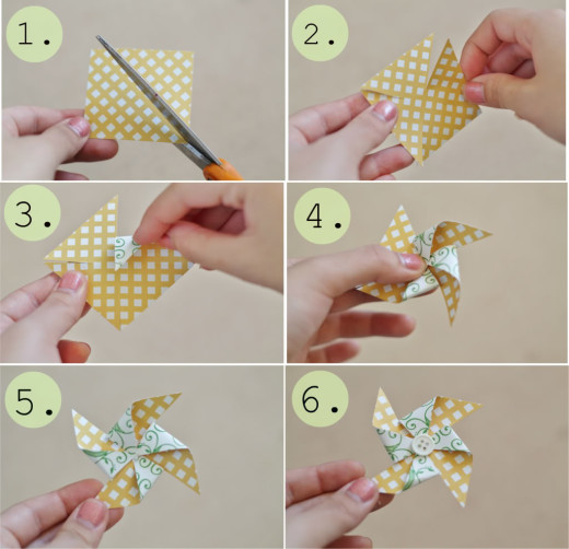 DIY Pinwheel | From Amusing