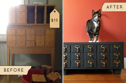 A Dusty Card Catalogue Gets Updated for Apartment Living