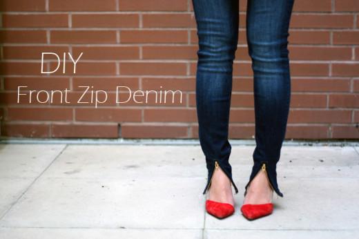 #DIY – Front Zip Denim