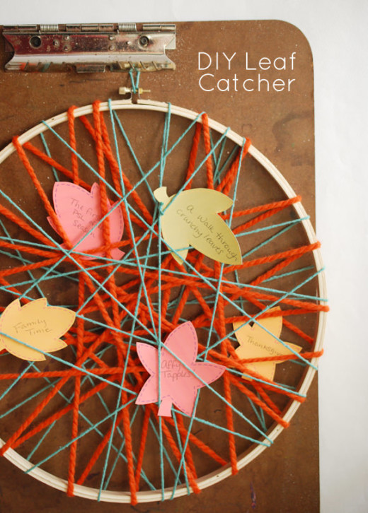 DIY Leaf Catcher | Handmade Charlotte