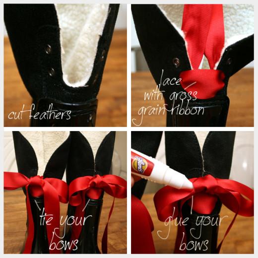 Embellished Rain Boots DIY