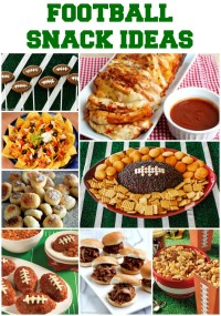 Game Day Football Party Snacks Ideas
