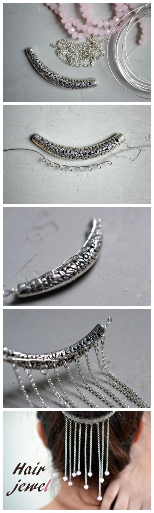 Hair Jewels Diy Project