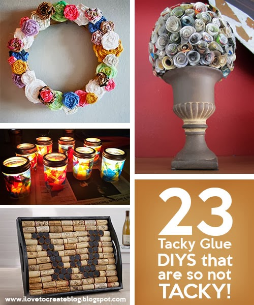 23 Tacky Glue DIYs that are so not TACKY!