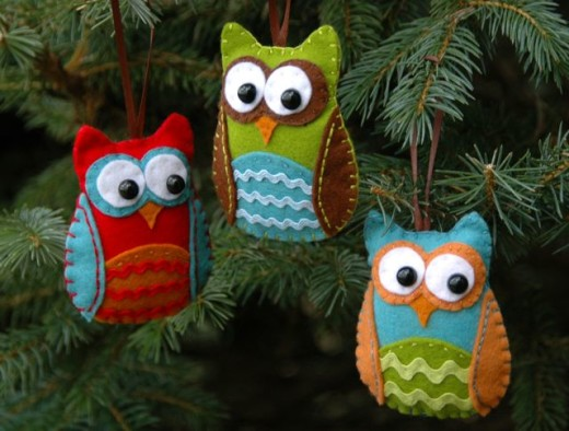 Owl ornament DIY + Download