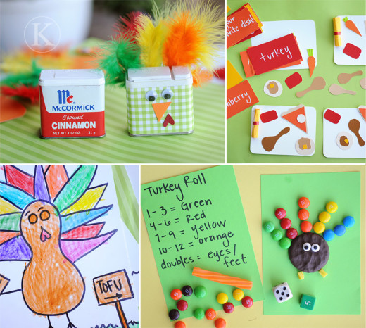 Thanksgiving activities for kids.