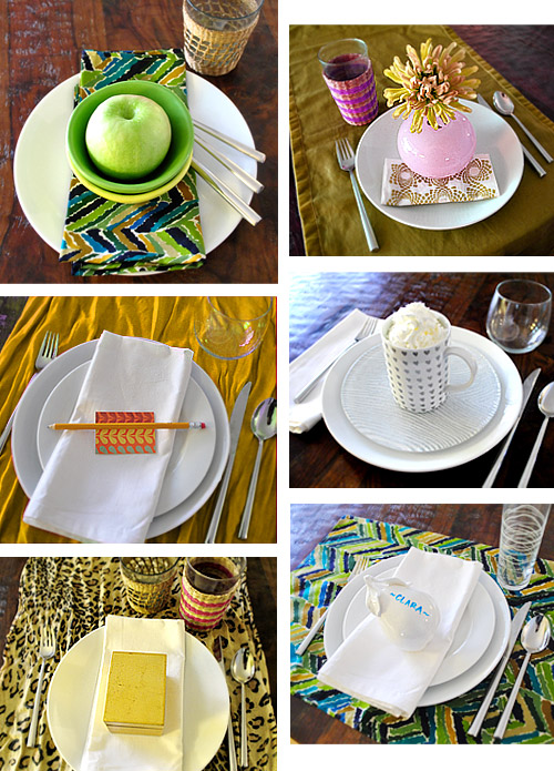 Last Minute Thanksgiving Table Settings | Young House Love
