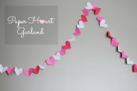 Valentine's Heart Garland