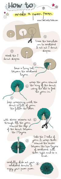 How To make a Pom-pom DIY