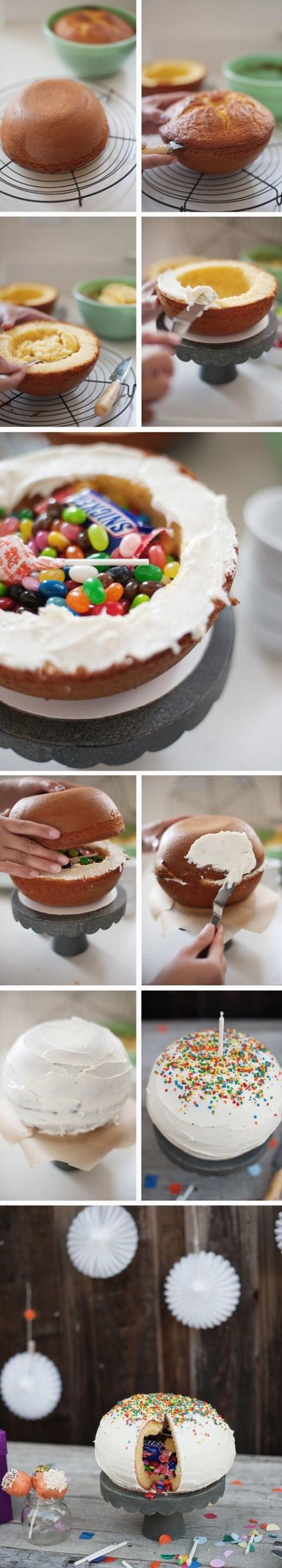 Awesome pinata cake | DIY