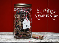 Gifts in A Jar – 52 Things A Year In A Jar
