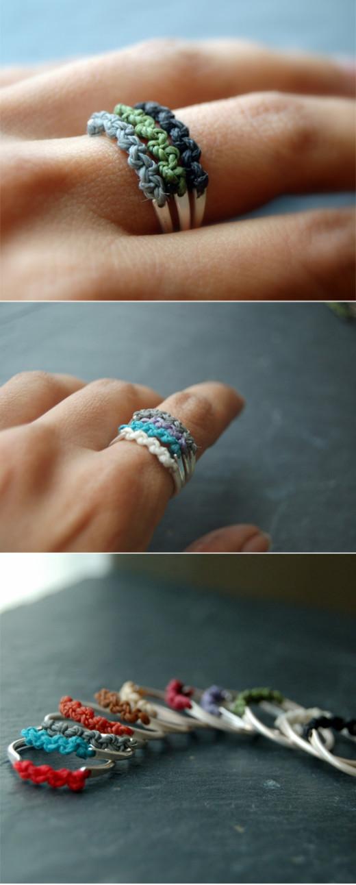 A Ring of Thread | DIY