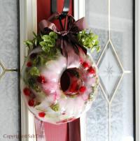 Arctic {Ice} Wreath | DIY
