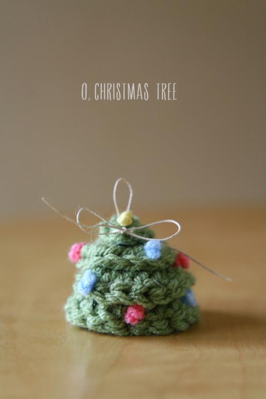 Crochet Spiral Christmas Tree