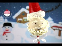 CHRISTMAS CAKE POPS!! Make SANTA CAKEPOPS for Christmas