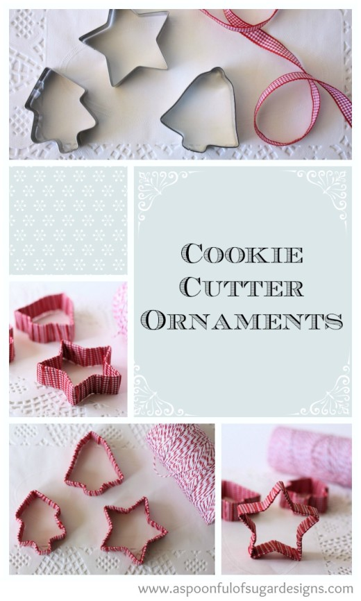 Cookie Cutter Ornaments from Spoonful of Sugar