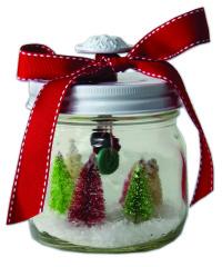 Christmas Tree Jar || DIY