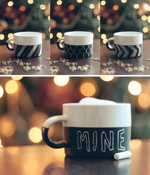 DIY: Chalkboard Mug | Wit & Whistle