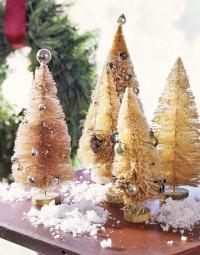 DIY Holiday Craft… Make Bottle Brush Trees