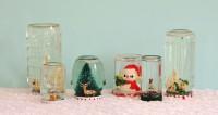 DIY Recycled Jar Snowglobes | My So Called Crafty Life