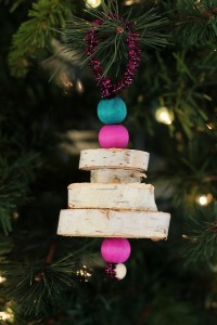 DIY Wooden Christmas Tree Ornaments