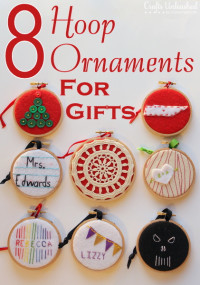 Handmade Christmas Ornaments For Everyone On Your List