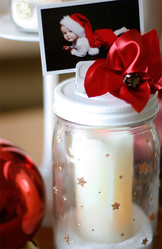 Festive Mason Jars | Christmas Gifts