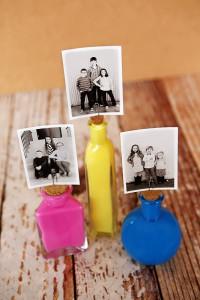 Painted Photo Bottles | DIY